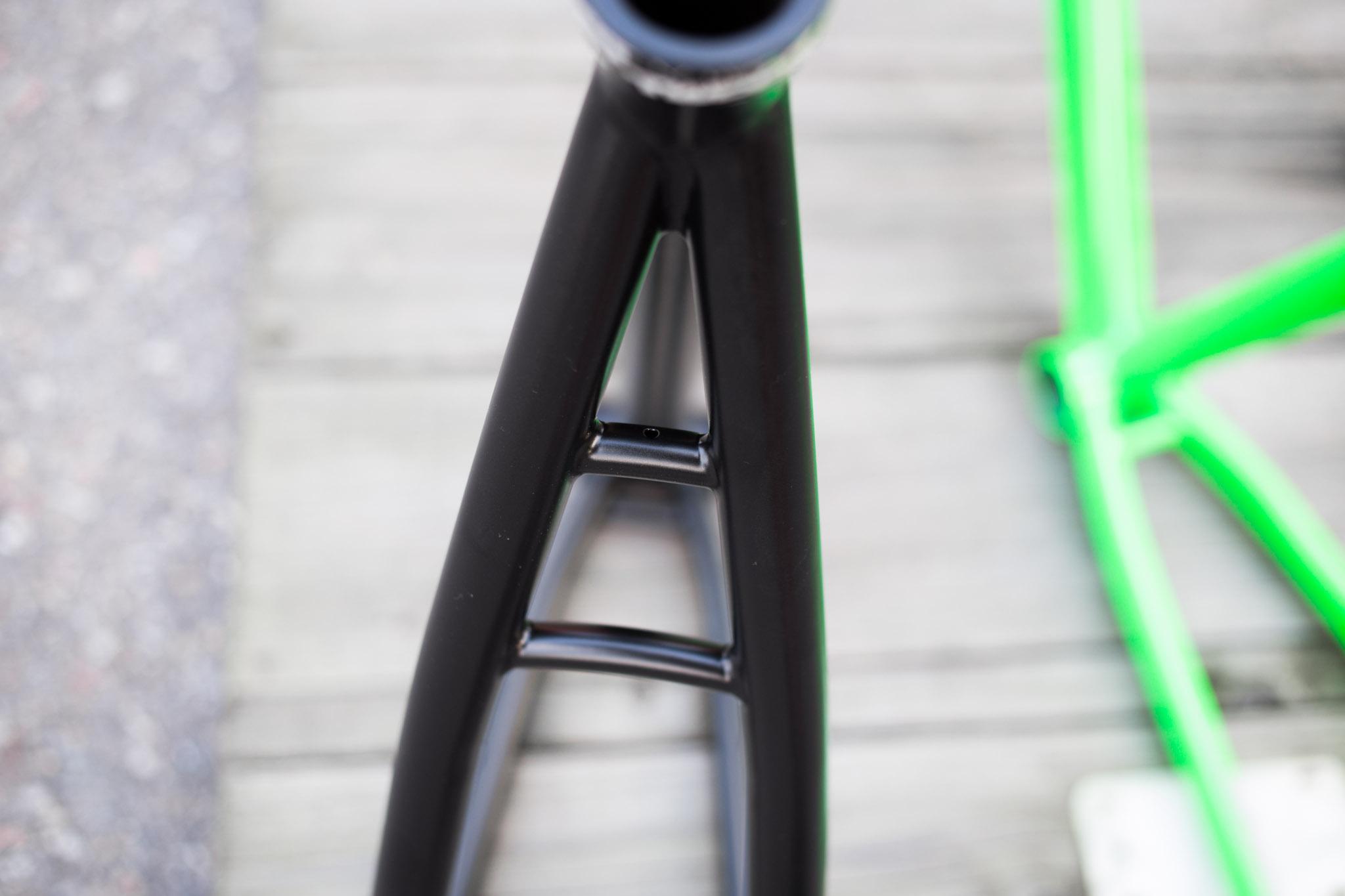 SingleBe 5-0 Bike Polo Frame   SingleBe